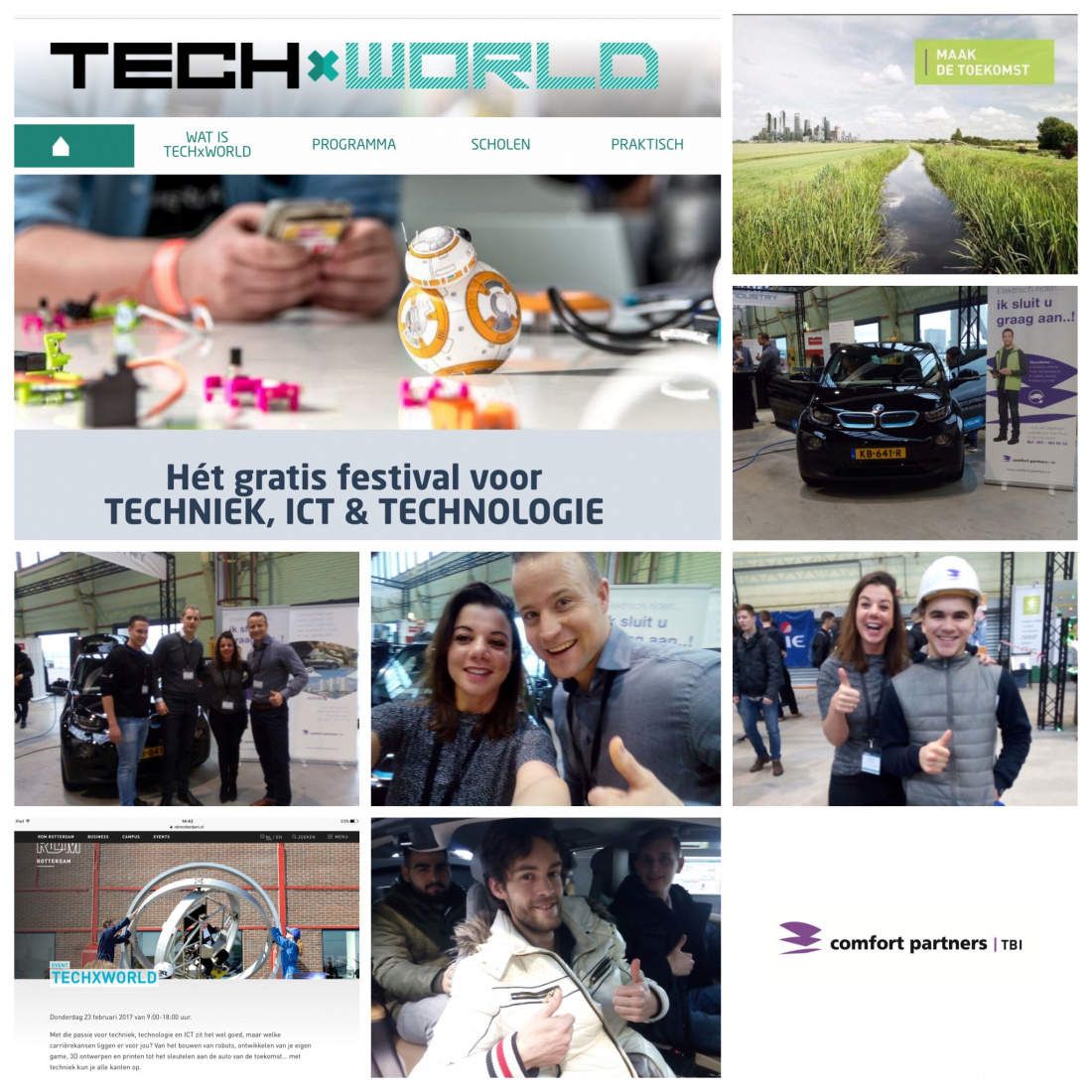 Comfort Partners op TechXWorld