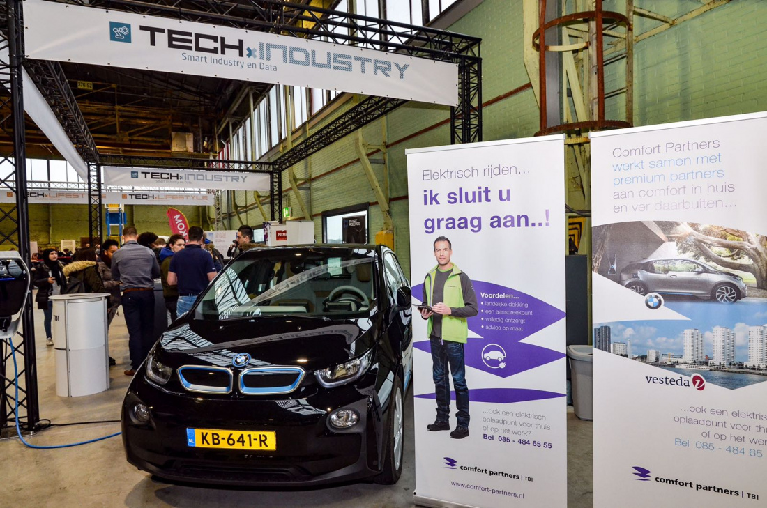 Comfort-Partners steelt de show op TECHxWORLD!